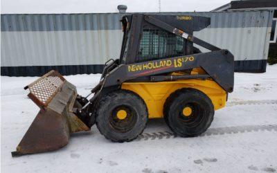 2003 New Holland LS170 Skidsteer