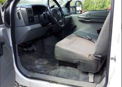 drivers interior