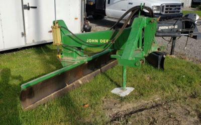John Deere 155 Series 9ft blade