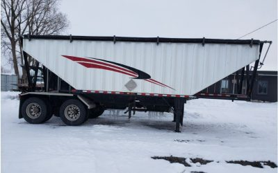 2013 Doepker Super B Grain Pup Trailer