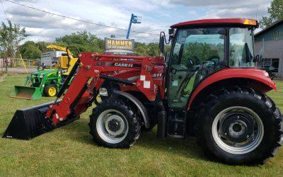 2014 Case IH Farmall 85C Tractor Loader